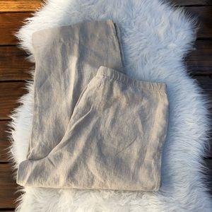 NWT J. Jill Linen Pants Size XL
